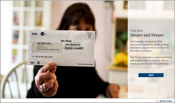 Schuldenfalle Serie New York Times