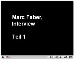 Marc Faber Interview, November 2008, Teil 1