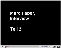 Marc Faber Interview, November 2008, Teil 2