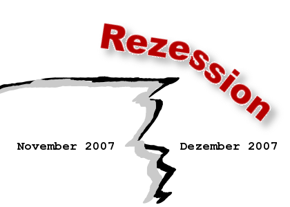 Rezession Anfang