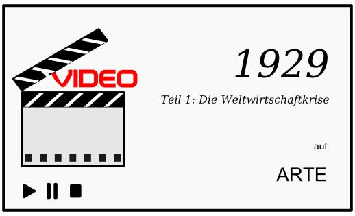 ARTE Dokumentation: 1929, Teil 1