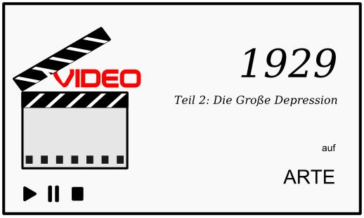 ARTE Dokumentation: 1929, Teil 2