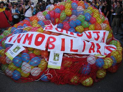 Immobilien Spanien Luftballons