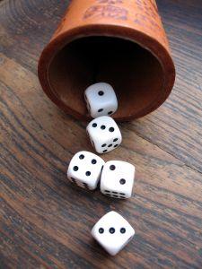 Prognosen Würfeln Glück und Pech